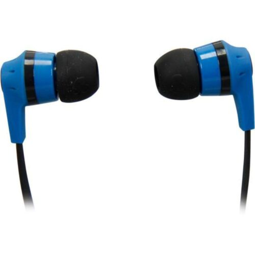 Tigerify candy Ink'd Headset Headphones Earphones OG 3.5mm Jack with mic (Blue) 3