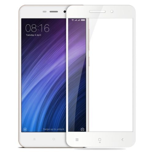 Redmi 4A / Redmi 3S / Redmi 3S Prime Tempered Glass White High Quality 1