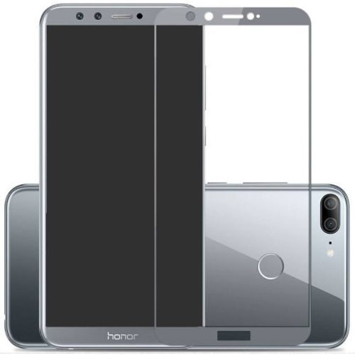 Honor 9 Lite Tempered Glass Grey High Quality 5D 1