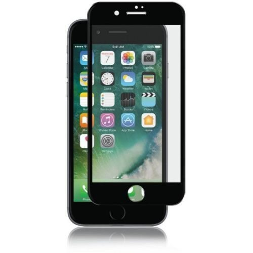 Apple iPhone 6 Tempered Glass Black High Quality 6D 1