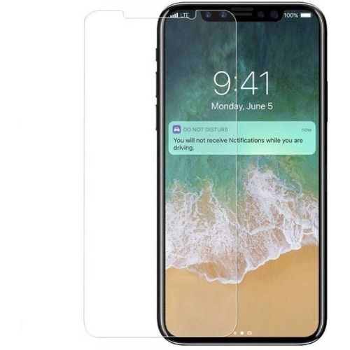 Apple iPhone X Tempered Glass 0.3mm Plain Transparent 1