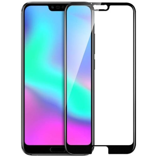 Honor 10 Tempered Glass Black High Quality 6D 1