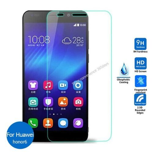 Honor 6 Tempered Glass 0.3mm Plain Transparent 1