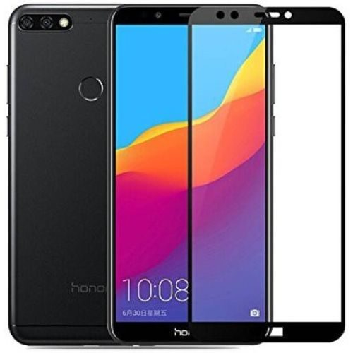 Honor 7C Tempered Glass Black High Quality 5D 1