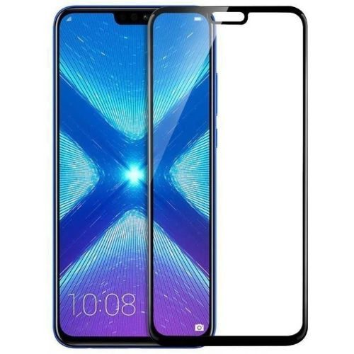 Honor 8X Tempered Glass Black High Quality 1