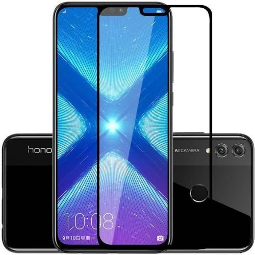 Honor 8X Tempered Glass Black High Quality 6D 1