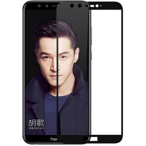 Honor 9 Lite Tempered Glass Black High Quality 5D 1