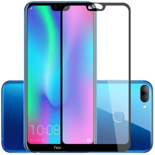 Honor 9N Tempered Glass Black High Quality 6D 1