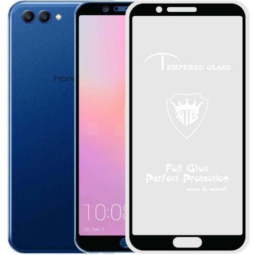 Honor View 10 Tempered Glass Black High Quality 1