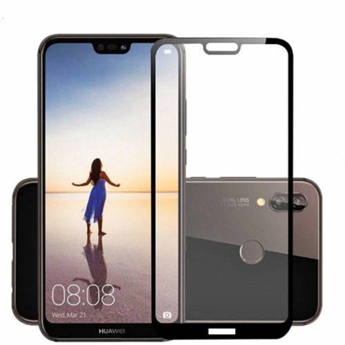 Huawei P20 Lite Tempered Glass Black High Quality 6D 1