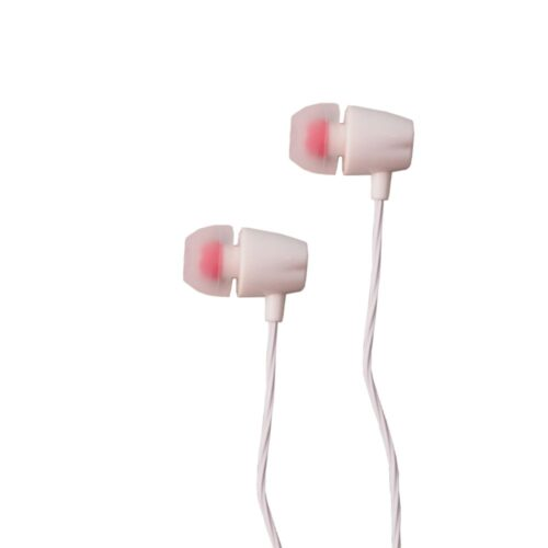 TIGERIFY Candy TCX-913 Stereo Headset Super Bass Earphone 3.5mm jack with Mic (White)