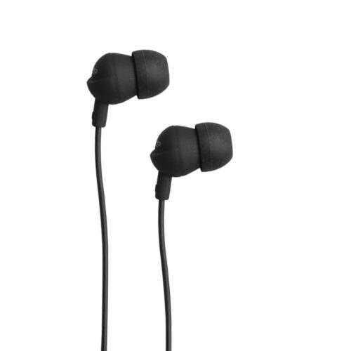 TIGERIFY TCG-21 Earphones Headphones Headset 3.5mm Jack With Mic (Black)