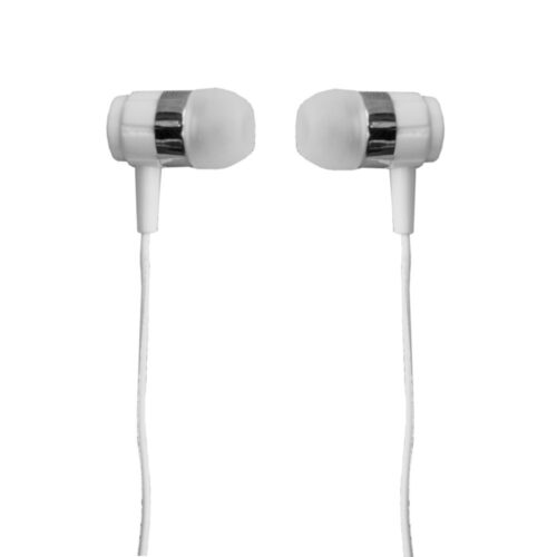 TIGERIFY TCL-10 Extra Bass Earphones Headphones Headset 3.5mm jack with Mic (White)