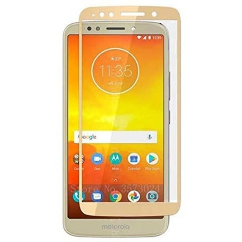Moto E5 Plus Tempered Glass Gold High Quality 1