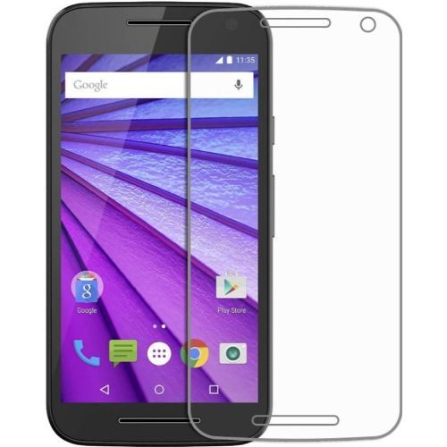 Motorola Moto G3 Tempered Glass 0.3mm Plain Transparent 1