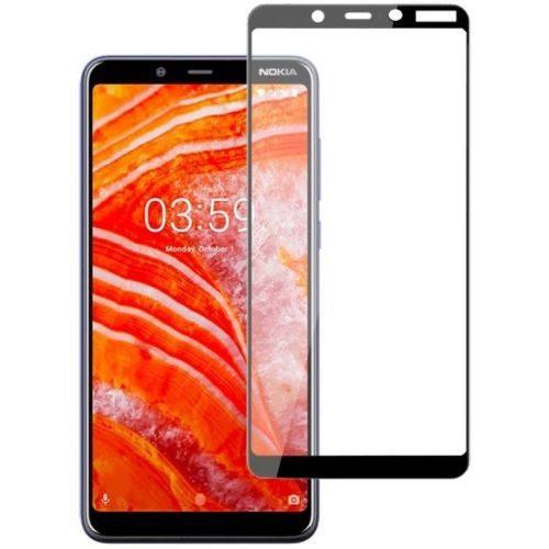 Nokia 3.1 Plus Tempered Glass Black High Quality 1