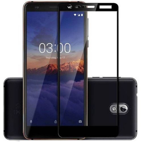 Nokia 3.1 Tempered Glass Black High Quality 1