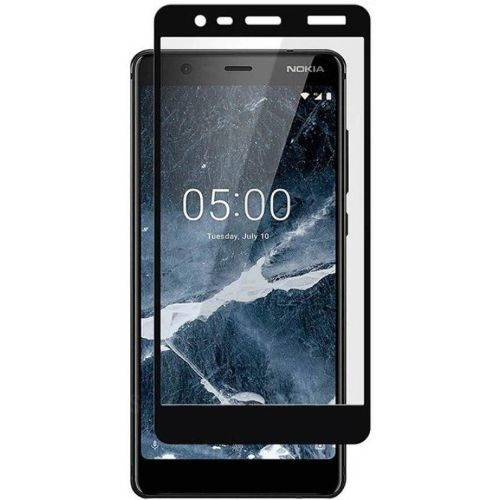 Nokia 5.1 Tempered Glass Black High Quality 1