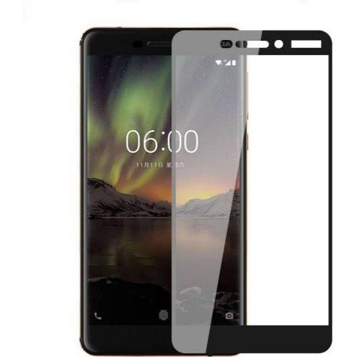 Nokia 6 2018 Tempered Glass Black High Quality 1