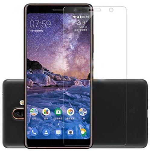 Nokia 7 Plus Tempered Glass 0.3mm Plain Transparent 1