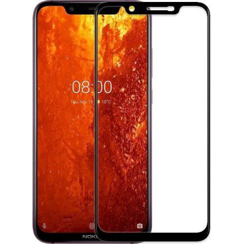 Nokia 8.1 Tempered Glass Black High Quality 1