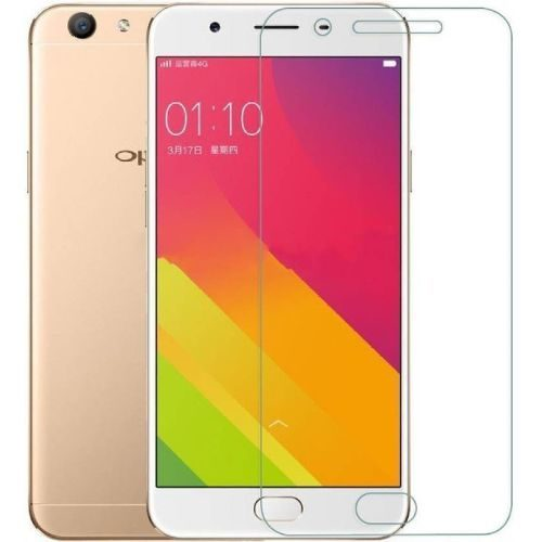 OPPO A57 Tempered Glass White High Quality 5D 1