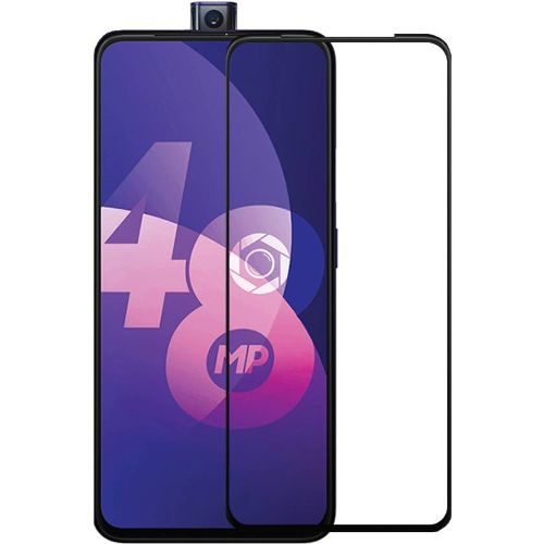 OPPO F11 Pro Tempered Glass Black High Quality 6D 1