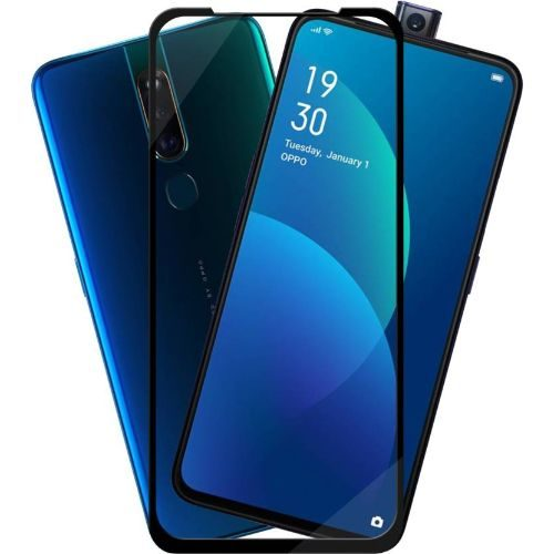 OPPO F11 Pro Tempered Glass Black High Quality 1