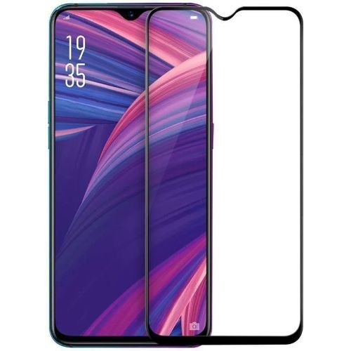 Oppo R17 Pro Tempered Glass Black High Quality 1