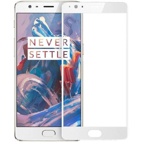 OnePlus 3T Tempered Glass White High Quality 1