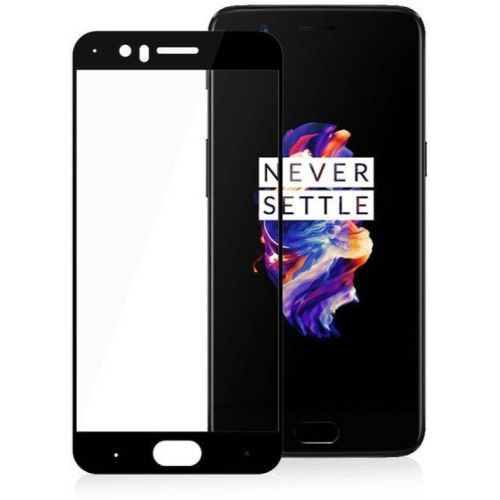 OnePlus 5 Tempered Glass Black High Quality 1