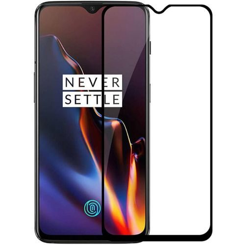 OnePlus 6T Tempered Glass Black High Quality 6D 1