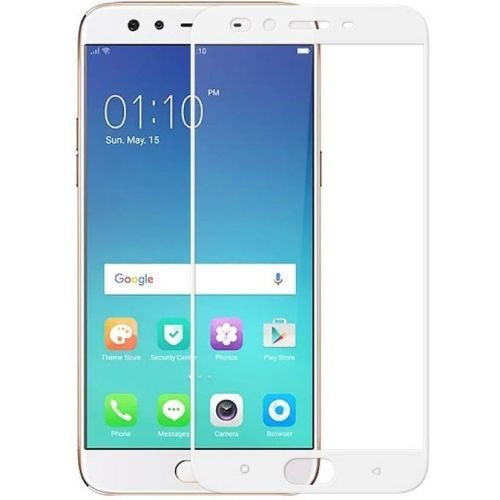 Oppo F3 Plus Tempered Glass White High Quality 1