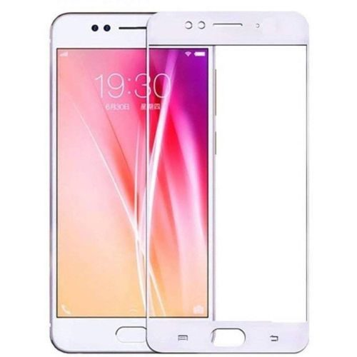 Oppo F3 Plus Tempered Glass White High Quality 5D 1