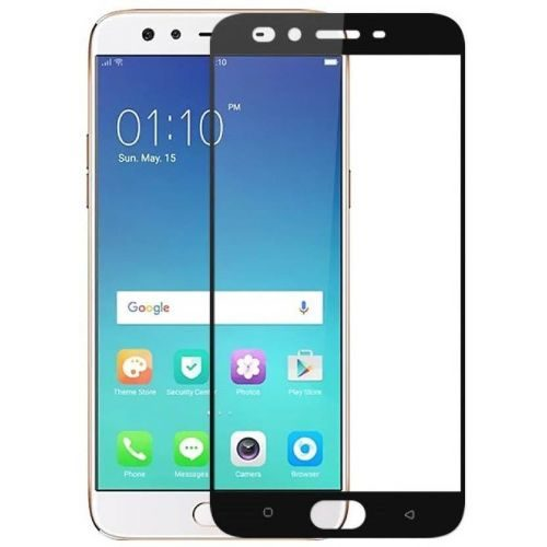 Oppo F3 Plus Tempered Glass Black High Quality 5D 1