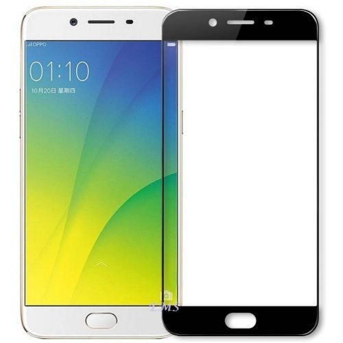 Oppo F3 Plus Tempered Glass Black High Quality 1