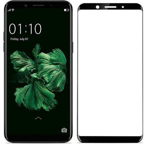 Oppo F5 Tempered Glass Black High Quality 5D 1