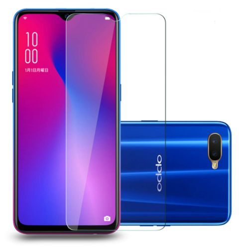 Oppo R17 Tempered Glass Black High Quality 1