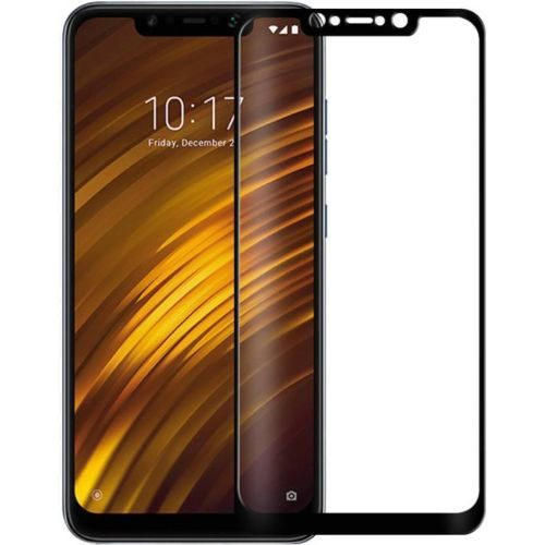 Poco F1 Tempered Glass Black High Quality 1