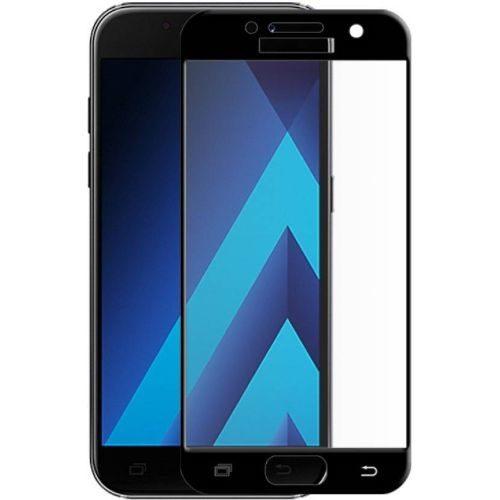 Samsung Galaxy A7 2017 Tempered Glass Black High Quality 6D 1
