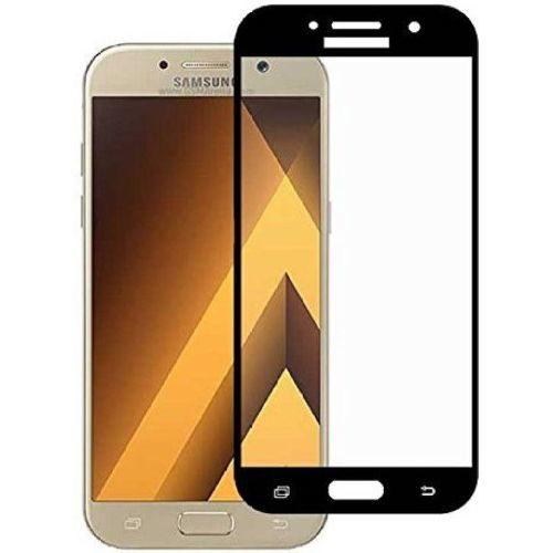 Samsung Galaxy A7 2017 Tempered Glass Black High Quality 1