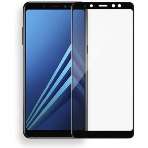 Samsung Galaxy A8 Plus Tempered Glass Black High Quality 1