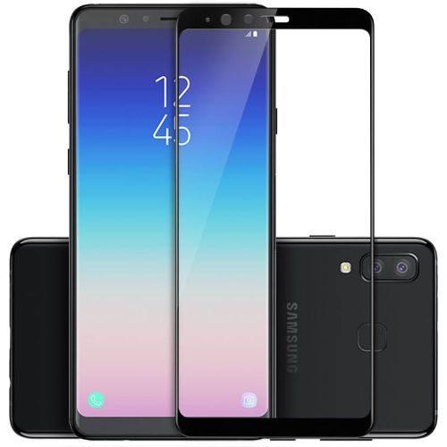 Samsung Galaxy A8 Star Tempered Glass Black High Quality 1