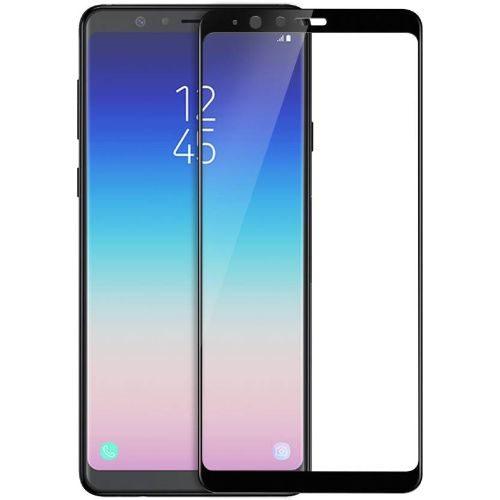 Samsung Galaxy A8 Star Tempered Glass Black High Quality 6D 1