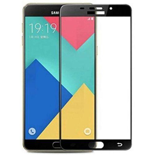 Samsung Galaxy A9 Pro Tempered Glass Black High Quality 1