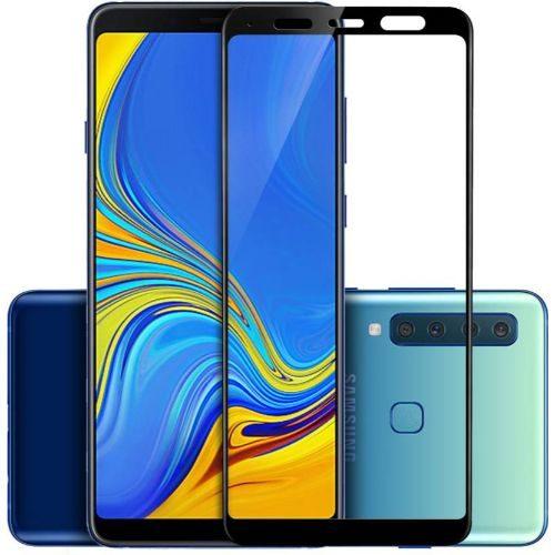 Samsung Galaxy A9 2018 Tempered Glass Black High Quality 6D 1