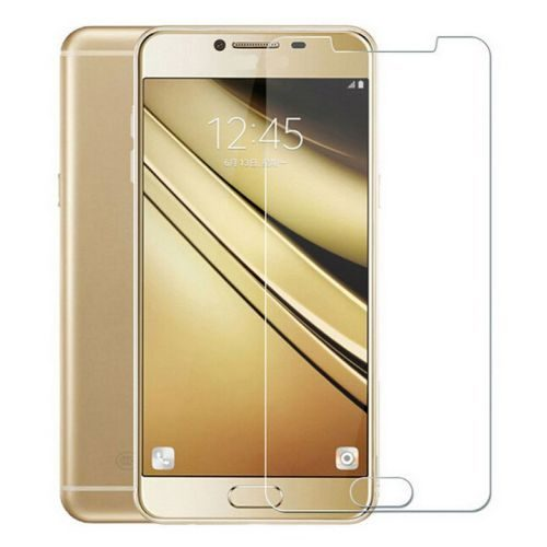 Samsung Galaxy C7 Pro Tempered Glass 0.3mm Plain Transparent 1