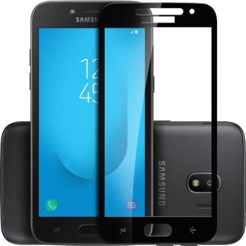 Samsung Galaxy J2 2018 Tempered Glass Black High Quality 1