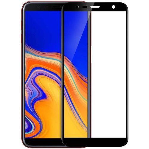 Samsung Galaxy J6 Plus Tempered Glass Black High Quality 1