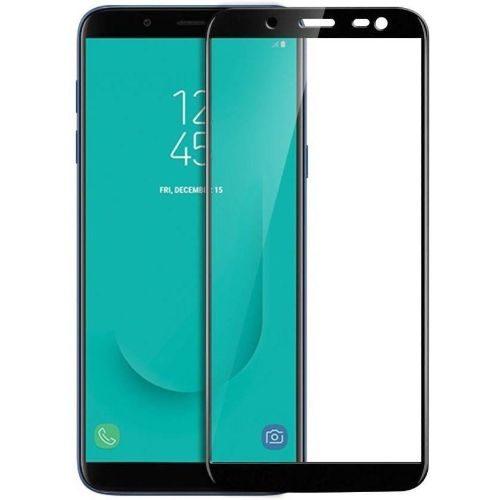 Samsung Galaxy J6 Tempered Glass Black High Quality 6D 1
